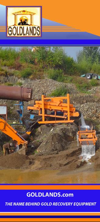 Goldlands Manufactures Alluvial and Hard Rock Gold Recovery Equipment